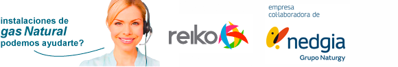 Reiko Gas Natural Instalaciones Cataluña